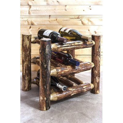 Tustin 9 Bottle Tabletop Wine Rack