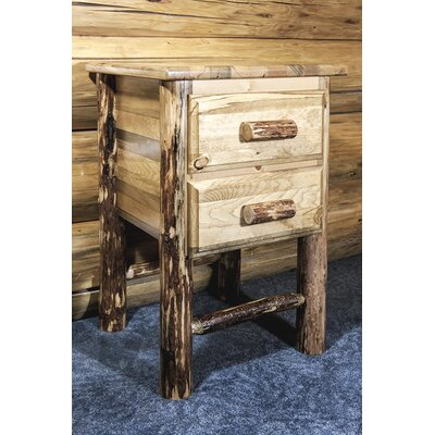 Tustin 2 Drawer Nightstand