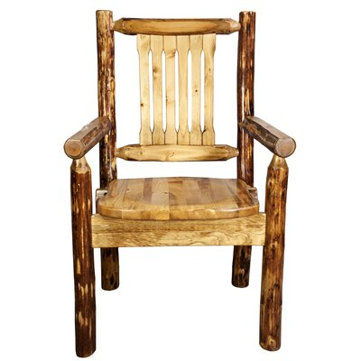 Tustin Wooden Arm Chair