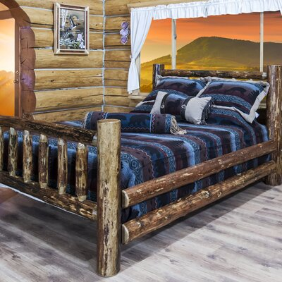 Tustin Collection Panel Bed Size: California King
