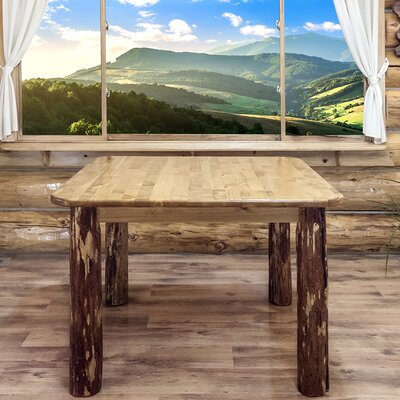 Tustin 4 Post Square Dining Table Size: 30 H x 45 W x 45 D