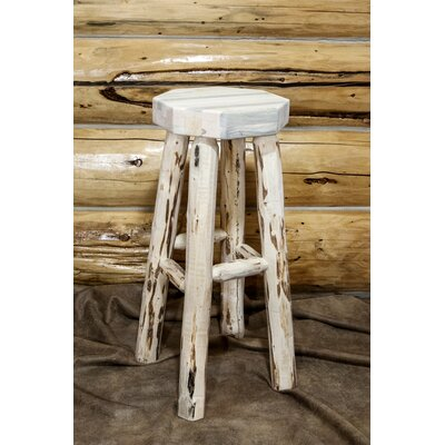 Montana 24 Bar Stool Finish: Clear Lacquer Finish