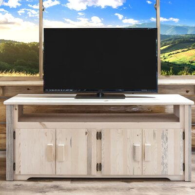 Homestead 59 TV Stand Color: Lacquered