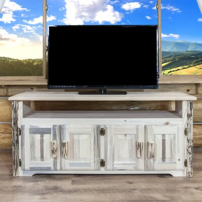 Montana 59 TV Stand Color: Ready To Finish