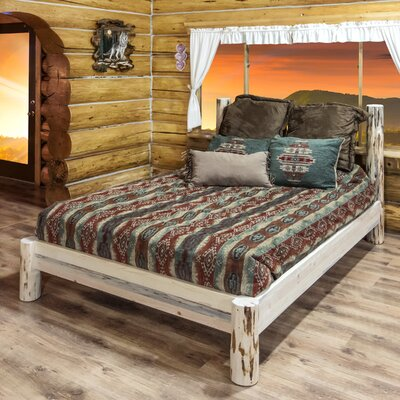 Abordale Platform Bed Color: Ready to Finish, Size: California King