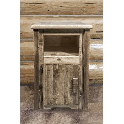 Abella Solid Wood End Table Finish: Stain/Lacquer