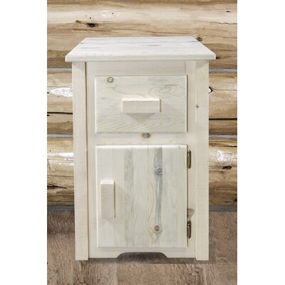 Abella Square End Table Color: Clear Lacquer