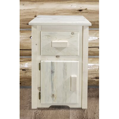 Abella End Table Finish: Clear Lacquer Finish