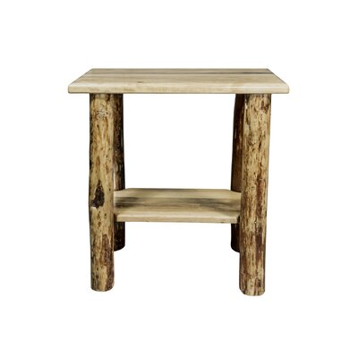 Glacier Chairside Table