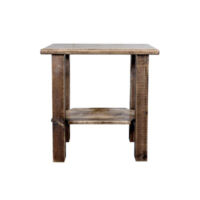 Homestead Chairside Table Finish: Stain/Lacquer