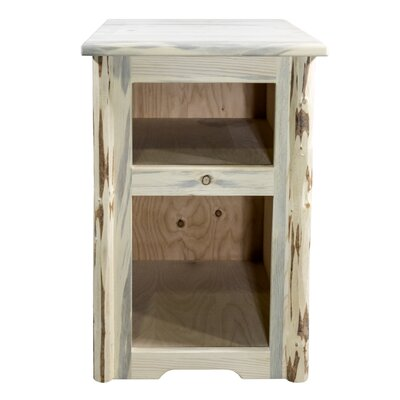 End Table Finish: Clear Lacquer Finish