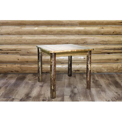 Tustin 4 Post Square Dining Table Size: 36 H x 45 W x 45 D