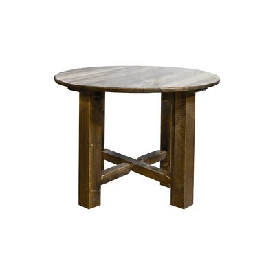 Abella Bistro Table Finish: Stain and Lacquer Finish, Size: 36 H x 45 W x 45 D