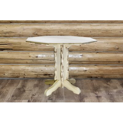 Abordale Pedestal Dining Table Finish: Ready to Finish, Size: 36 H x 45 W x 45 D