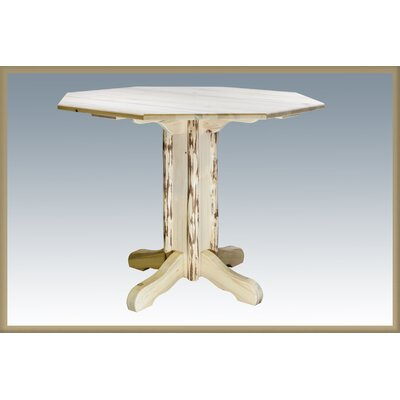 Montana Dining Table Finish: Ready, Size: 40 H x 45 W x 45 D