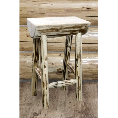 Abordale 24 Bar Stool Finish: Clear Lacquer Finish