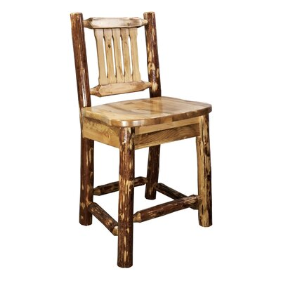 Tustin 24 inch Full Back Bar Stool