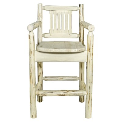 Abordale 24 Bar Stool Finish: Natural