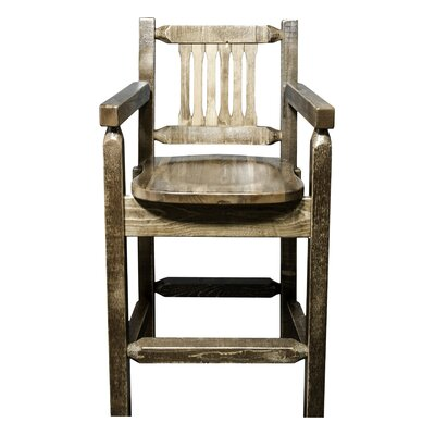 Homestead 24 Bar Stool Finish: Stain/Lacquer