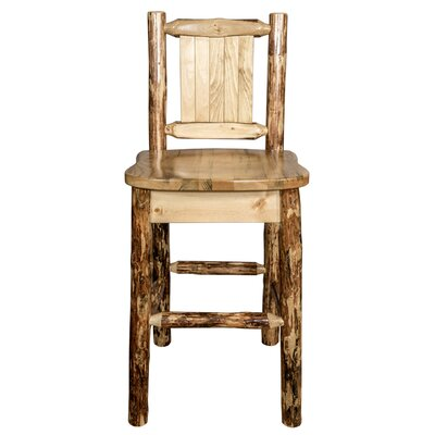 Southborough 24 Counter Height Pine Wood Bar Stool