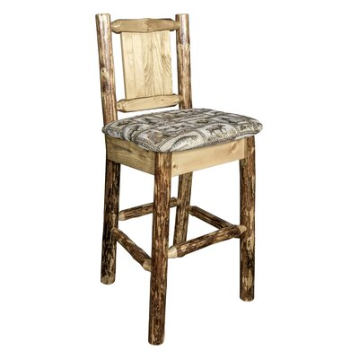 Southborough Rustic 24 Full Back Bar Stool