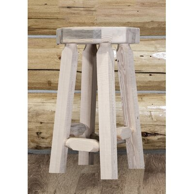 Abella 24 Round Bar Stool Finish: Unfinished