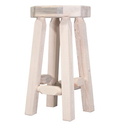 Homestead 24 inch Bar Stool Finish: Unfinished