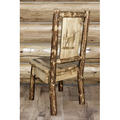 Tustin Full Back Side Chair Upholstery: Wood