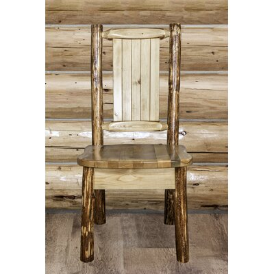 Tustin Handcrafted Side Chair Upholstery: Wood