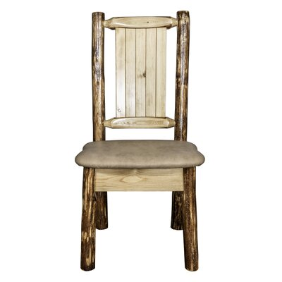 Tustin Rustic Side Chair Upholstery: Bucksin