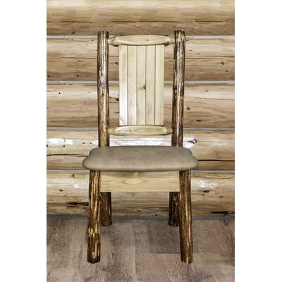 Tustin Handcrafted Side Chair Upholstery: Bucksin