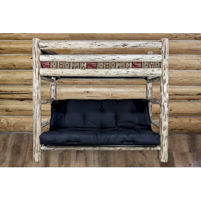 Abordale Bunk Bed 44 Solid Pattern Cotton Twin Futon Mattress
