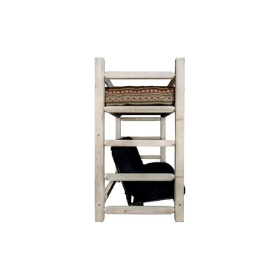 Aida Bunk Bed 44 Non-Toxic Cotton Twin Futon Mattress