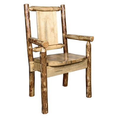 Rivas Captains Solid Wood Dining Chair