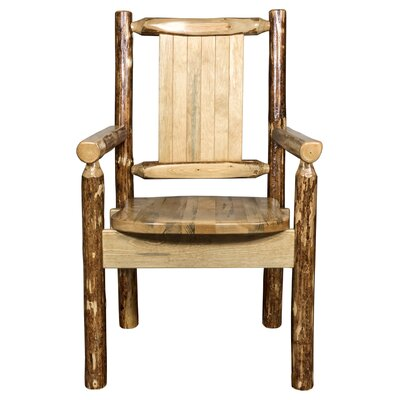 Rivas Captains Solid Wood Dining Arm Chair