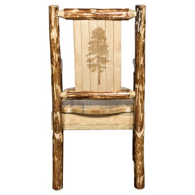 Rivas Hand-crafted Captain's Solid Wood Dining Chair