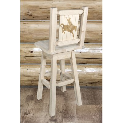 Pearson Handcrafted 30 Swivel Barstool