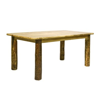 Montana Woodworks Glacier Country Dining Table (2 Pieces)