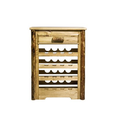 Credit for Glacier Country 16 Bottle Wine Rack...
