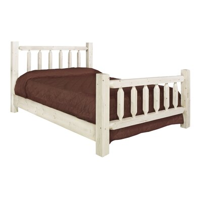 Montana woodworks Homestead Slat Bed - Finish: Lacquered, Size: California King at Sears.com