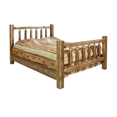 Montana woodworks Homestead Slat Bed - Finish: Stained and Lacquered, Size: California King at Sears.com