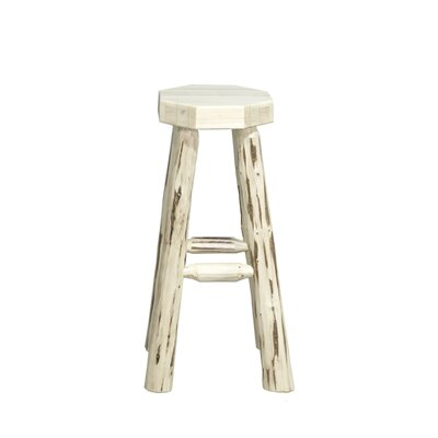 Abordale 30 Round Seat Bar Stool Finish: Lacquered