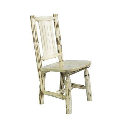 Rent to own Montana Side Chair Finish: Lacquere...