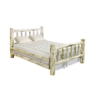 Abordale Panel Bed Size: King, Color: Lacquered