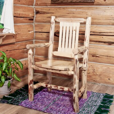 Abordale Slat Back Solid Wood Dining Chair Finish: Ready To Finish