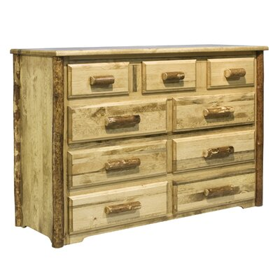 Easy furniture financing Glacier Country 9 Drawer Dresser...