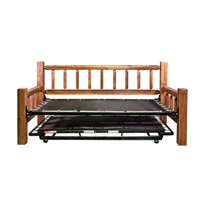 Abella Bed Frame Finish: Stained and Lacquered