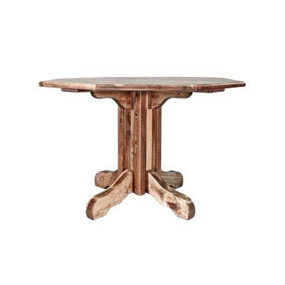 Abella Center Pedestal Table Finish: Lacquered