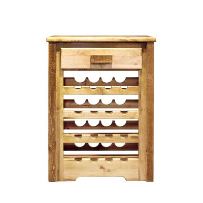 Abella 16 Bottle Floor Wine Rack Finish: Stained and Lacquered