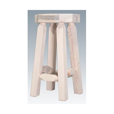 Easy financing Homestead Barstool Finish: Lacquere...